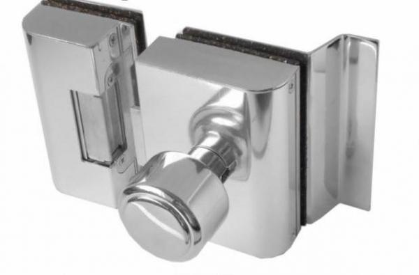 Fechadura para portas de vidro