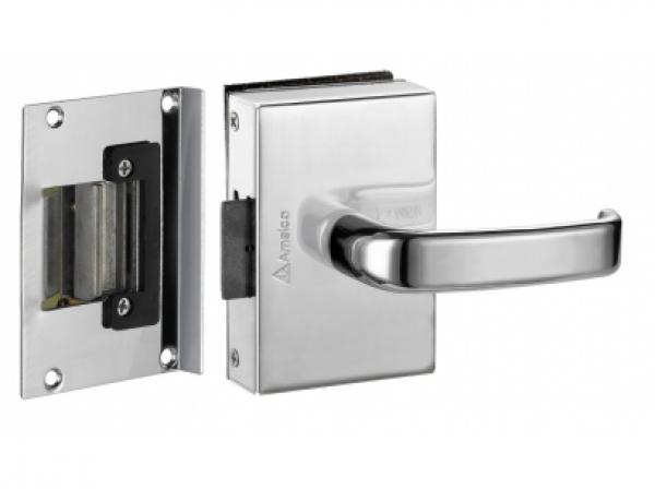 Fechaduras para portas de vidro abertura Interna