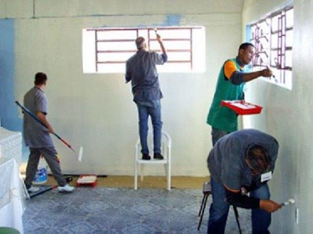 Pintura na construção civil